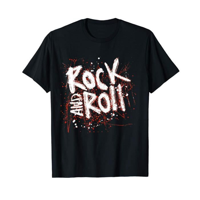 Tee shirt Rock and Roll