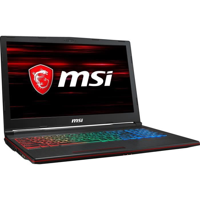 ORDINATEUR PORTABLE PC Portable Gamer - MSI GP63 Leopard 8RE-030FR - 1