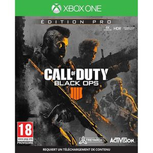 JEU XBOX ONE Call Of Duty Black Ops 4 Pro Édition Jeu Xbox One