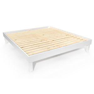 STRUCTURE DE LIT ABC MEUBLES - Lit confort grande taille 180x200 cm