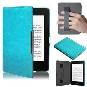 HOUSSE LISEUSE Etui Ultra Slim en cuir Smart Cover pour Amazon Ki