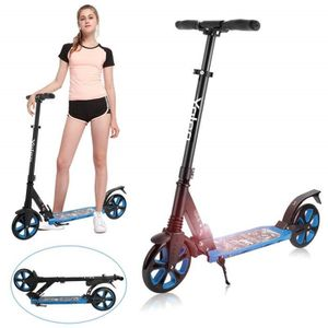 TROTTINETTE Yoleo Trottinette Adulte 2 Roues Grande Pliable No