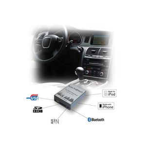 AUTORADIO Interface Adaptateur autoradio USB SD MP3 auxillia