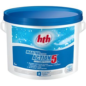 TRAITEMENT DE L'EAU  HTH Maxitab 5 actions chlore lent