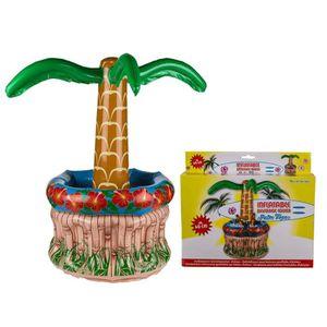 Décors de table Glacière gonflable palmier