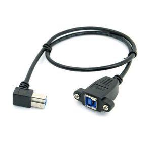 CÂBLE AUDIO VIDÉO 40cm USB 3.0 Panneau Arriere Monture Type B Femell