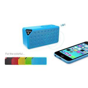ENCEINTE NOMADE Mini Speaker Bluetooth X3 Carte Memoire Clé USB E3