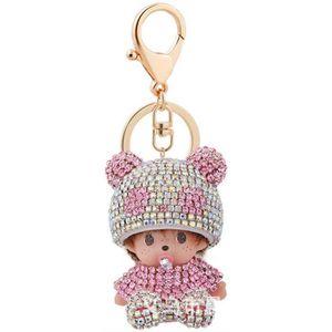 Fille mini poupée porte-clés enfants jouet de peluche bébé poupées Keych/_dy