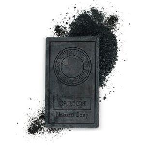 SAVON - SYNDETS Savon noir au charbon actif 75g – Idéal comme nett