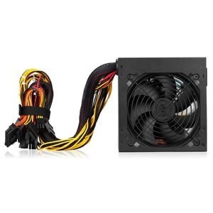 ALIMENTATION INTERNE Excelvan Alimentation PC ATX 600W 6 * SATA Double