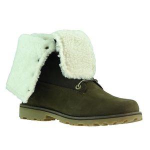 de mouton Bottes en Timberland Chaussures peau Femme d'hiver vmw8Nn0
