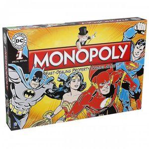 JEU SOCIÉTÉ - PLATEAU Monopoly DC Comics Retro