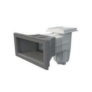 BONDE - BUSE - SKIMMER  Skimmer liner pour piscine enterrée gris clair