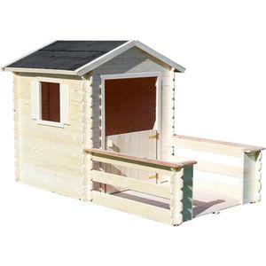 MAISONNETTE EXTÉRIEURE Cabane en bois pour enfant  PRALINE
