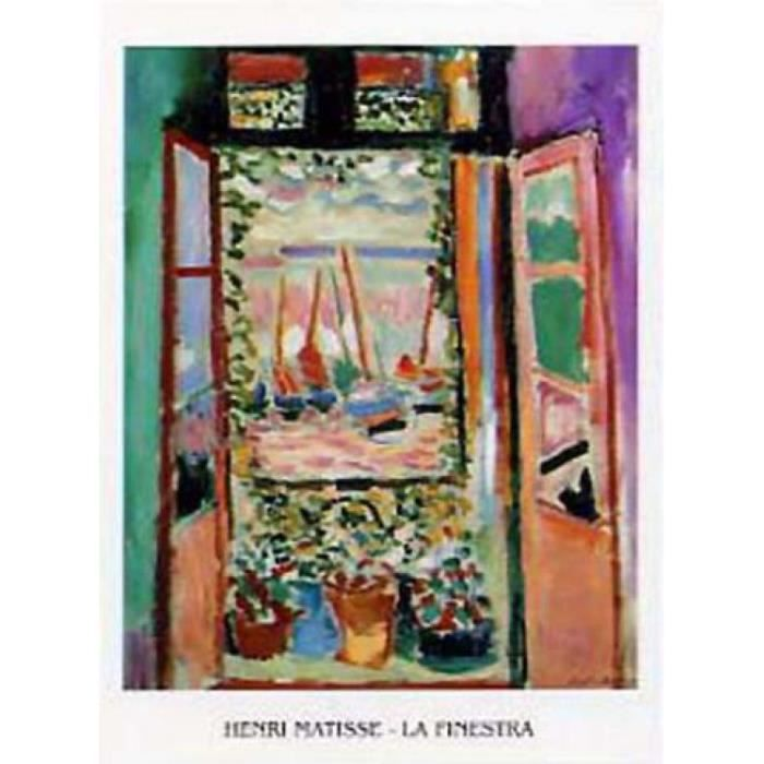 Henri matisse poster reproduction la finestra la for Fenetre 80x60