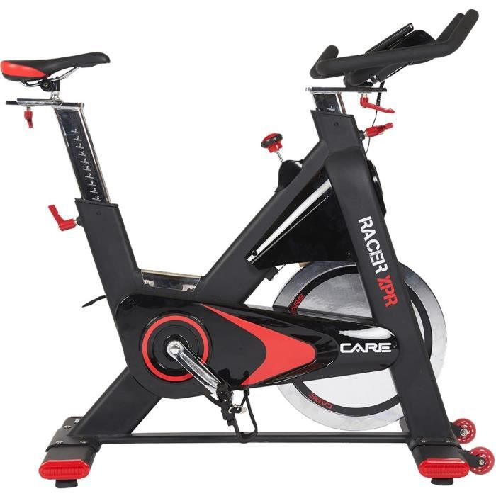CARE Vélo Spin Bike Racer XPR électronique