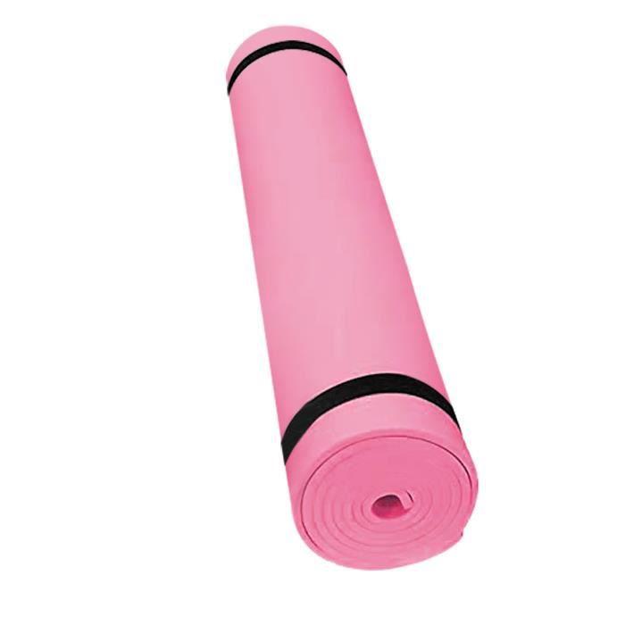 4MM EVA épais tapis de yoga durable tapis d'entraînement antidérapant tapis de fitness @coercoo387