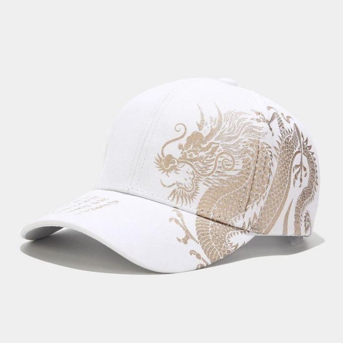 CASQUETTE Mixte - Casquette de baseball tout-match à la mode - Blanc WS™