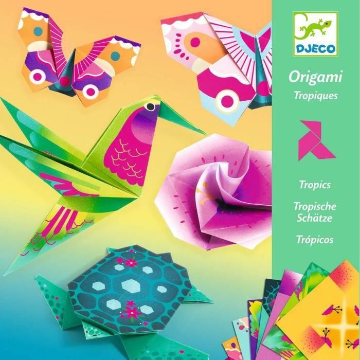 Origami : Tropiques Coloris Unique