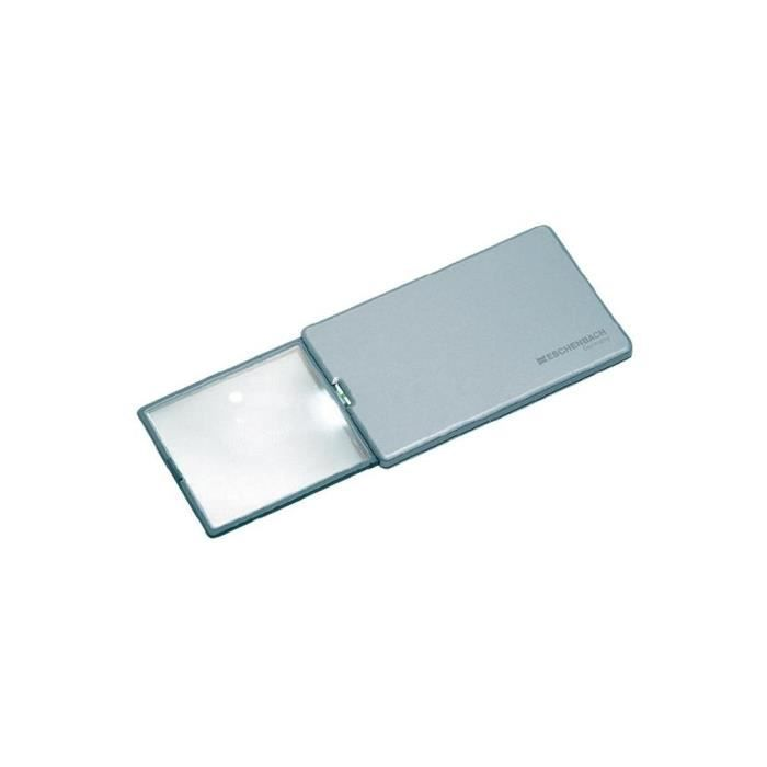 Loupe de poche avec LED Eschenbach Easy Pocket