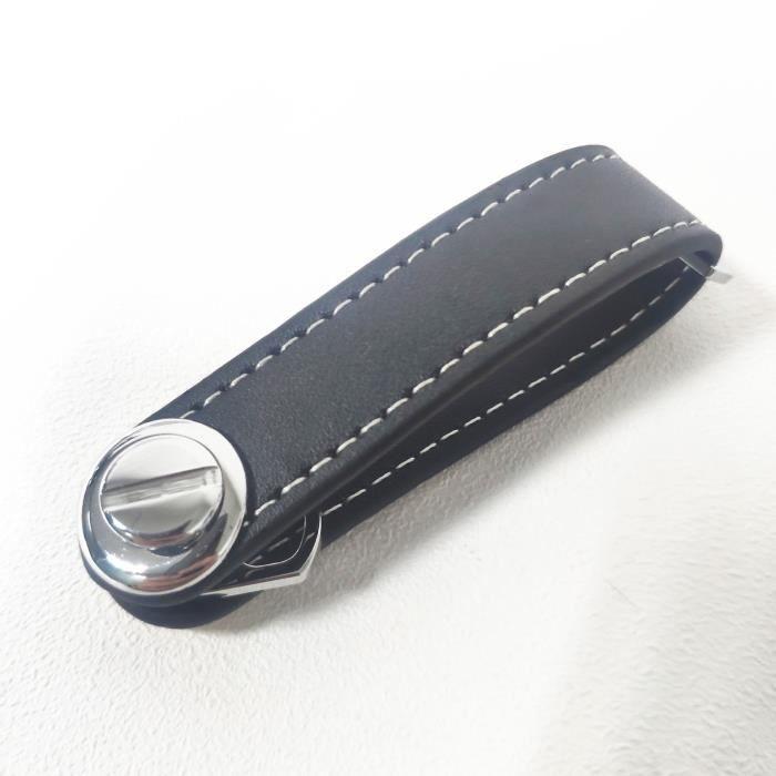 Porte-clés Smart Compact Porte-clés Organisateur Porte-clés Porte-clés en cuir