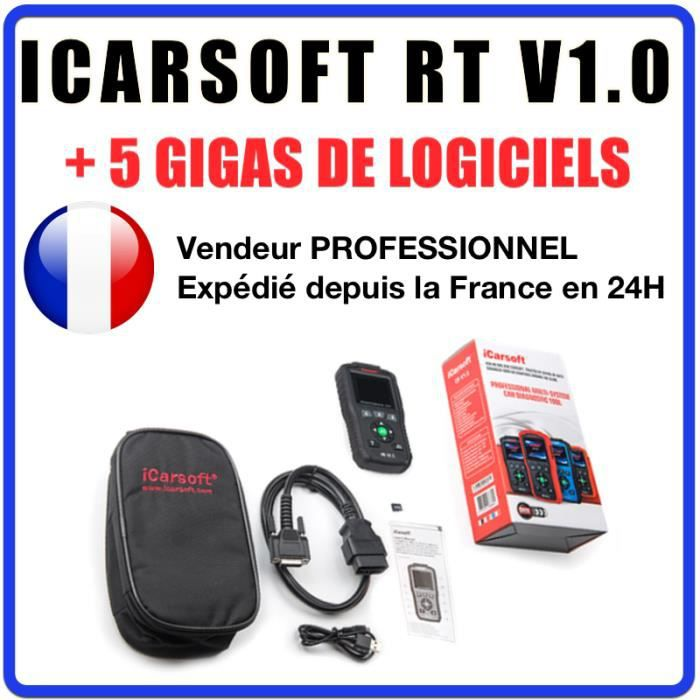 Interface Diagnostic iCarsoft RT V1.0 Diagnostic PRO tous systèmes Renault Dacia