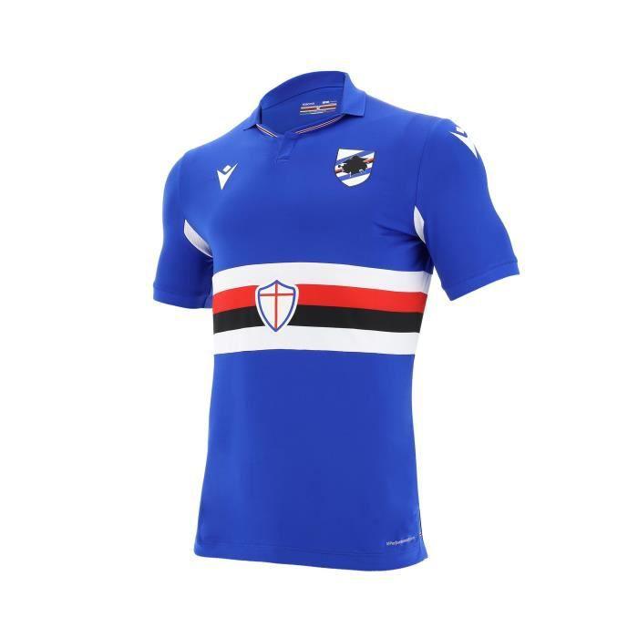 Maillot Unione Calcio Sampdoria Domicile 2020/2021 100 % Polyester