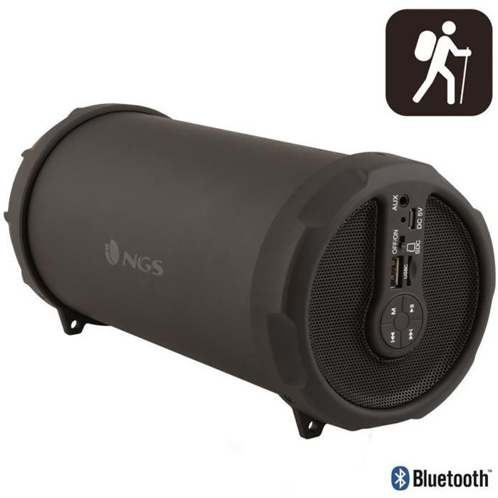 Enceinte Bluetooth et MP3 20 W RMS Rollerflow