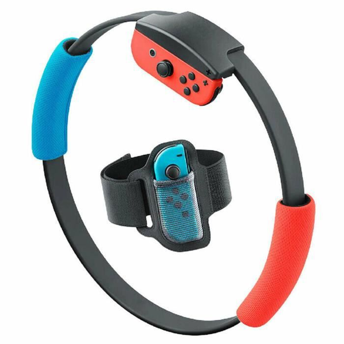 Anneau Fit Aventure Bundle Body Sense Ring Game Fitness (Nintendo Switch, 2020)