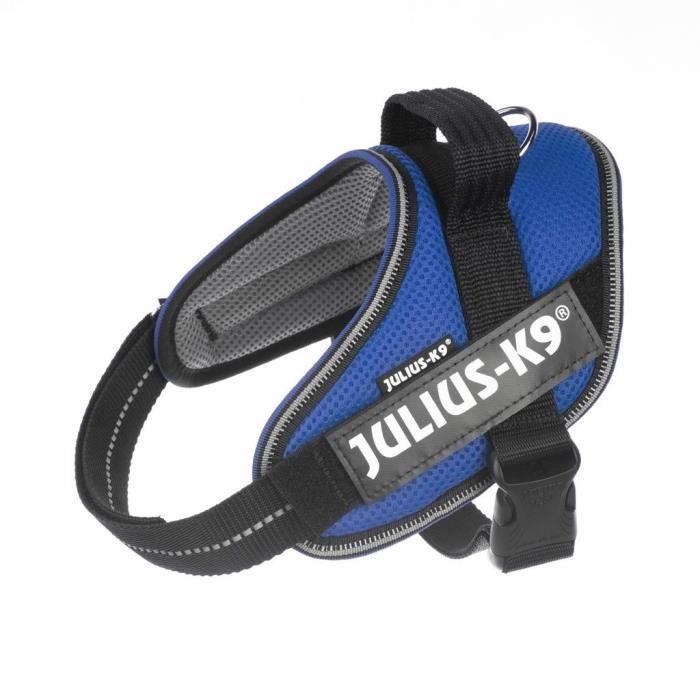 Harnais été IDC® POWair léger et rafraîchissant Small: 49-67 cm - Bleu