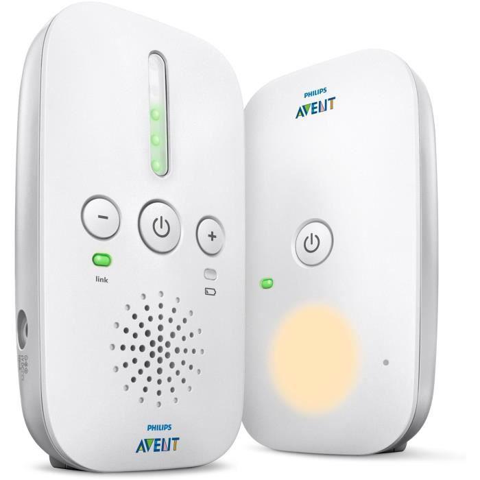 Ecoute-bébé DECT Smart Eco Philips Avent