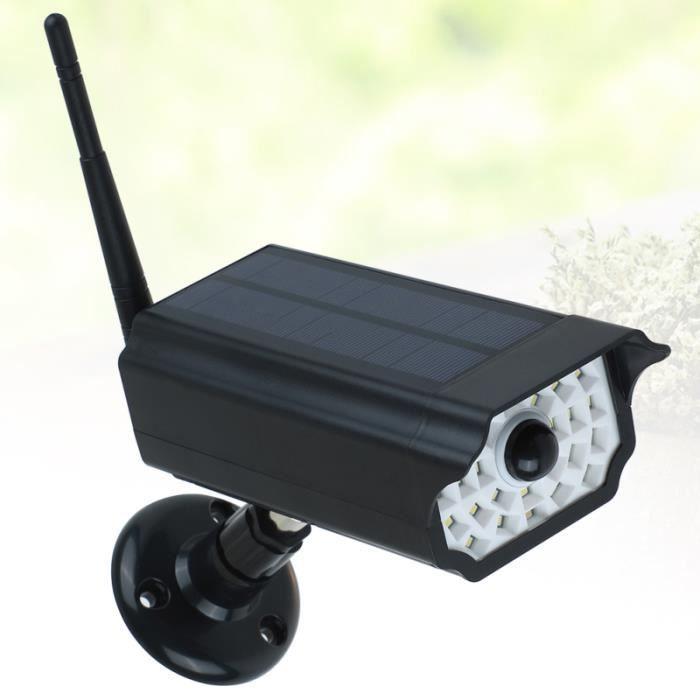 1 Pc Imperméable À L'énergie Solaire Simulation CCTV Caméras De Surveillance KIT CAMERA DE SURVEILLANCE - PACK VIDEOSURVEILLANCE