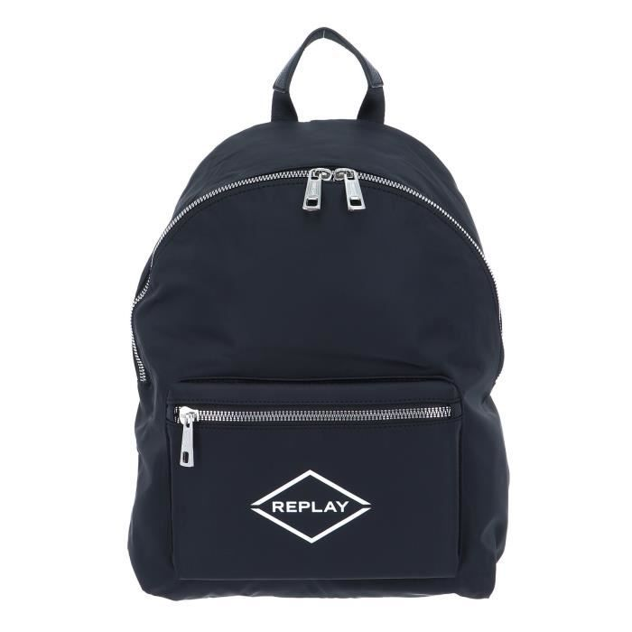 REPLAY Backpack with Pocket Black [99831]