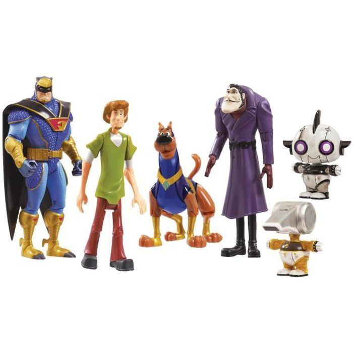 Scooby Doo - Pack de 6 figurines articulées