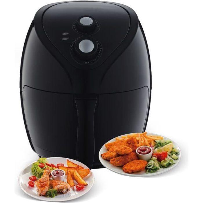 Friteuse à air chaud - AirFryer (sans odeur) - 2.6L - 1400W - Triomph ETF1800