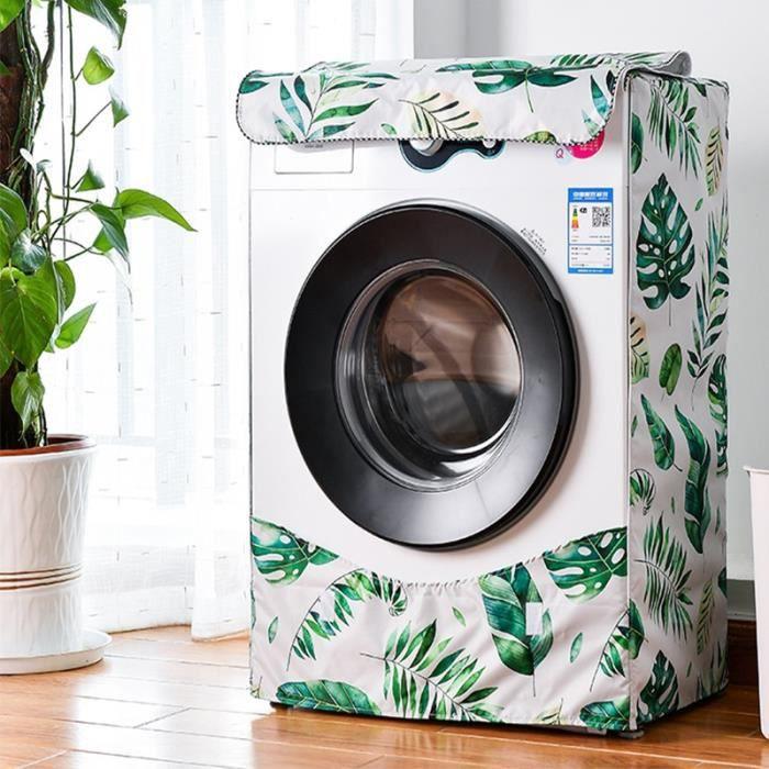 Leaves-XL -Lave linge à rouleau entièrement automatique, protection solaire pour Machine à laver, housse étanche, sèche linge, houss