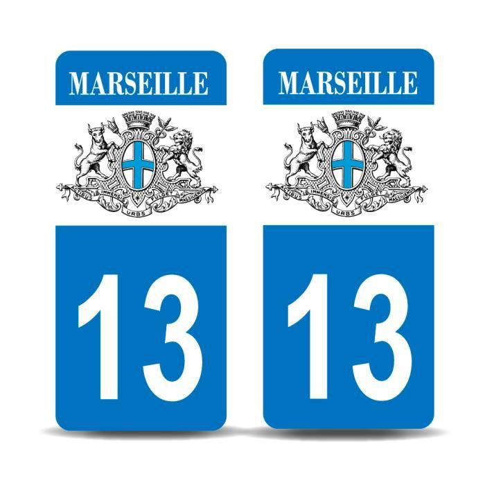 Paire Sticker immatriculation 42 Nouveau logo Auvergne Rh/ône-Alpes