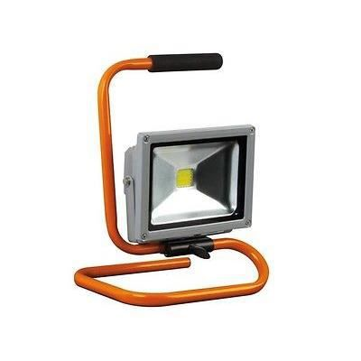 projecteur projo spot lampe de chantier travaux portable etanche led 20w 6500 k achat vente. Black Bedroom Furniture Sets. Home Design Ideas