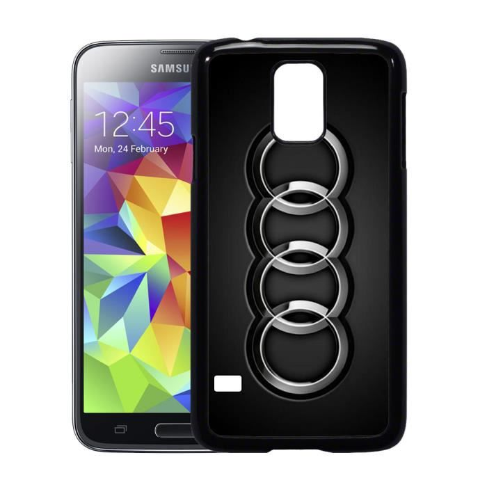 coque samsung galaxy s5 logo audi achat coque bumper. Black Bedroom Furniture Sets. Home Design Ideas