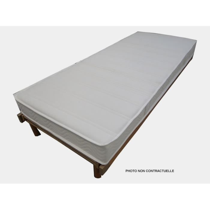 matelas mousse chene 80x190 cm achat vente matelas cdiscount. Black Bedroom Furniture Sets. Home Design Ideas