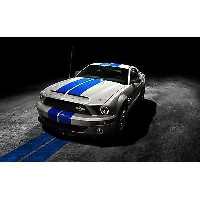 sticker autocollant auto voiture ford mustang ref a216 dimensions 60x34cm achat vente. Black Bedroom Furniture Sets. Home Design Ideas