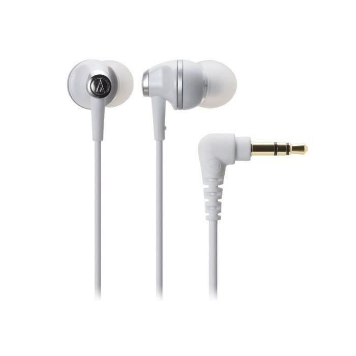Audio-technica Ath-ck313m-wh In-ear Headphones Athck313m White