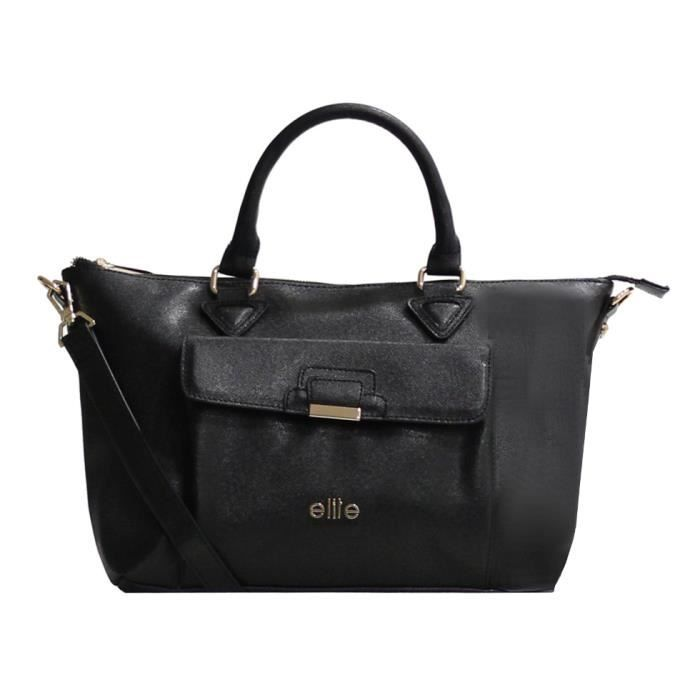 Sac à main Elite E6174-Noir