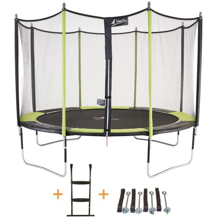 trampoline jumpix achat vente jeux et jouets pas chers. Black Bedroom Furniture Sets. Home Design Ideas