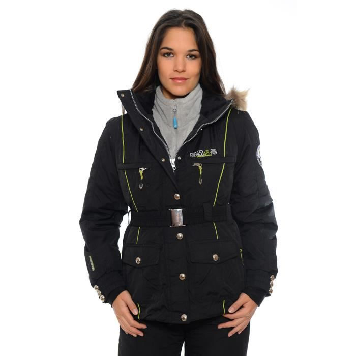blouson de ski femme anapurna va noir achat vente blouson manteau blouson de ski. Black Bedroom Furniture Sets. Home Design Ideas