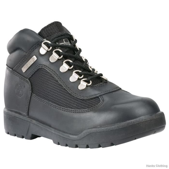 Timberland Field Boot Black juni...