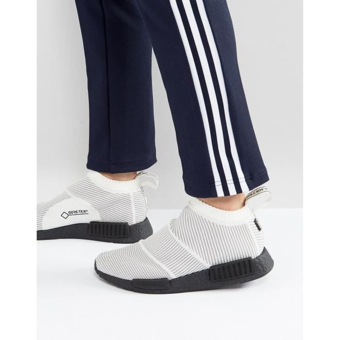 82d4c98541 Adidas Originals NMD - CS1 Goretex Primeknit - Baskets - Blanc ...
