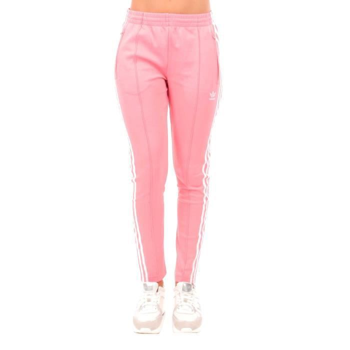 many styles on feet shots of incredible prices jogging adidas femme rose