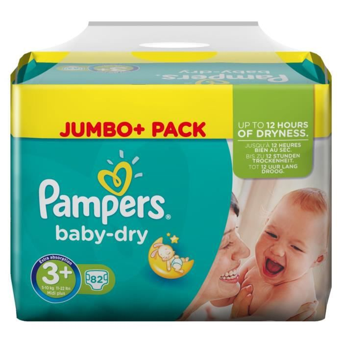 pampers baby dry 5 megapack