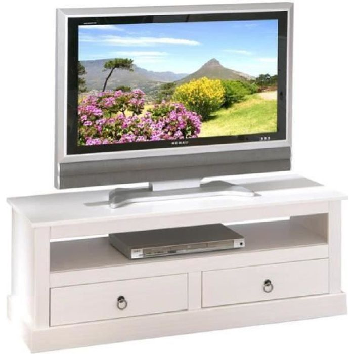 meuble tv en pin massif